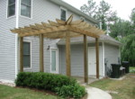 Pergola and Rear Patio
