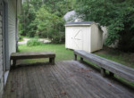 q deck and shed